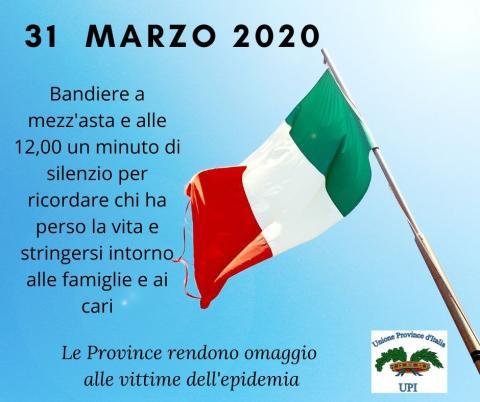 il volantino dell'iniziativa simbolica del 31 marzo