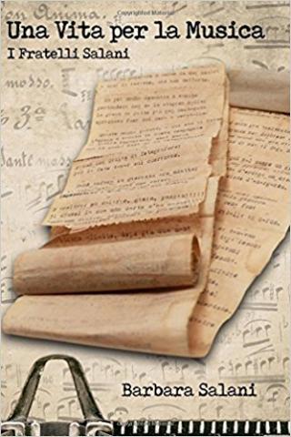 la copertina del libro Una vita per la musica