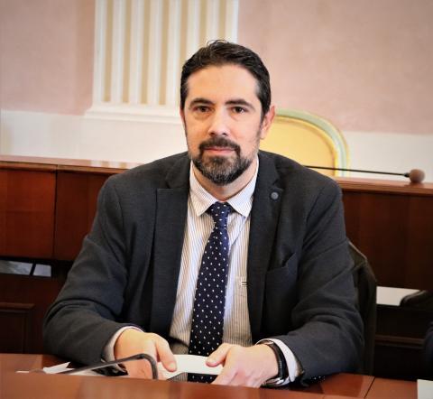 Il consigliere provinciale Andrea Bonfanti
