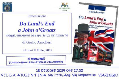 Invito alla presentazione del 16 ottobre