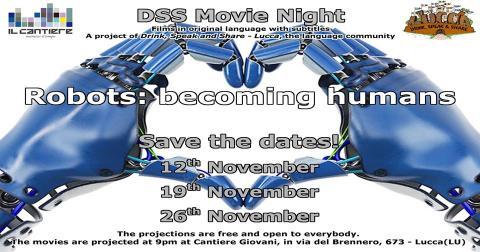 Locandina DSS Movie Night novembre 2019