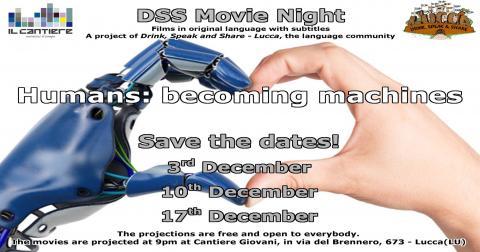 Locandina DSS Movie Night dicembre 2019