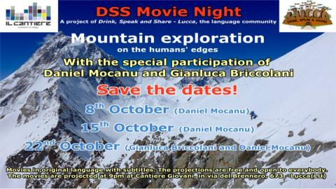 Locandina DSS Movie Night ottobre 2019
