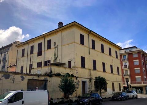 L'esterno dell'edificio