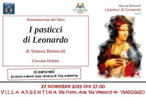 Invito all'evento del 22 novembre I pasticci di Leonardo