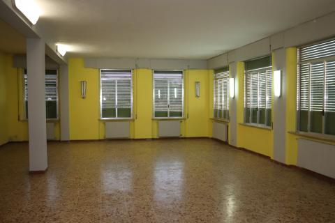 Uno spazio interno che sarà suddiviso in più classi