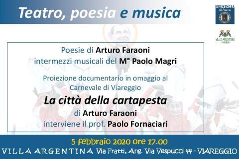 Evento Villa Argentina 5 febbraio 2020