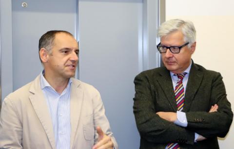 Marcello Bertocchini e Luca Menesini