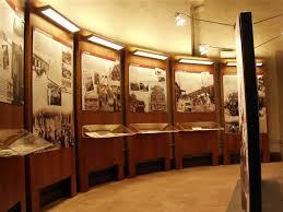 L'interno del Museo Cresci dell'emigrazione italiana