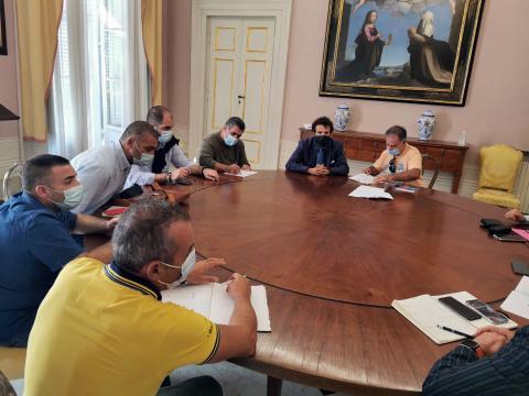 Un momento della riunione