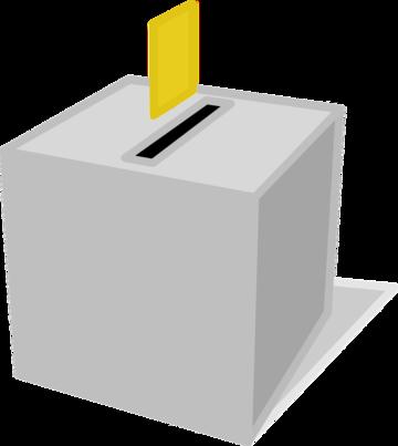 Urna elettorale - riproduzione grafica