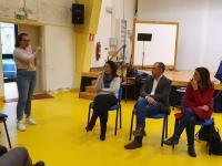 Il presidente Luca Menesini e la sindaca Caterina Campani