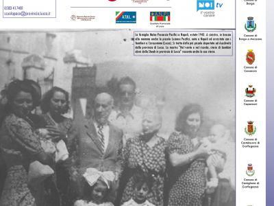 la famiglia Molco-Procaccia-Pacifici nel 1943