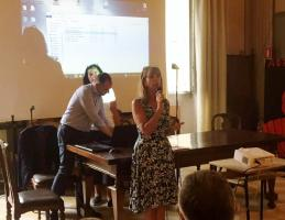 la preside del Machiavelli-Civitali-Paladini prof.ssa Iolanda Bocci
