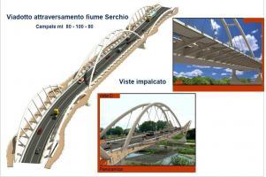 alcuni dettagli del progetto del nuovo ponte