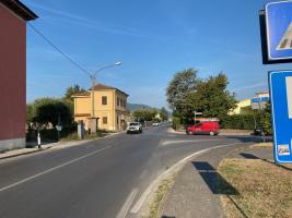 l'incrocio tra la via di Sottomonte e la via di Ponte Strada